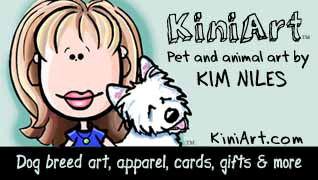 Kim Niles Dog KiniArt™