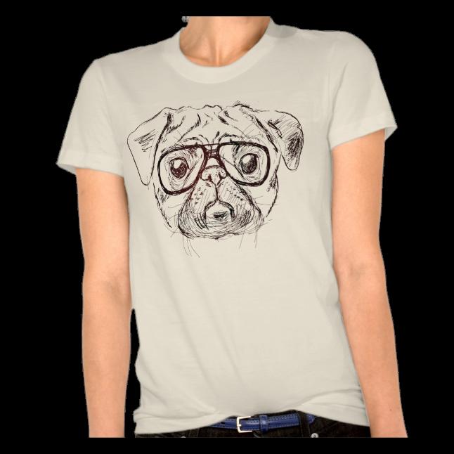 8f5a6368 Custom Pug Shirts · Dog Lover's Shirts / Shirts For Pet Lovers